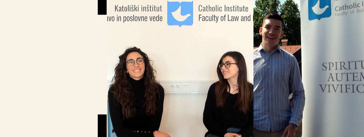 Alessia, Martina and Pedro were our excellent ERASMUS students! Listen to their experiences…